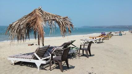 Goa ocean sunny beach