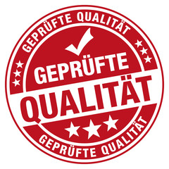 Geprüfte Qualität