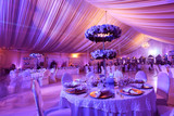 Wedding flowers decoration in the restaurant - 78743370