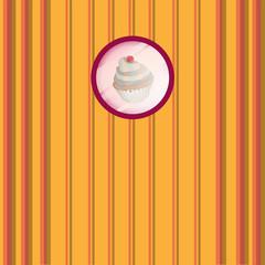 Sweet vector shop card