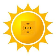 die Sonne als Stromquelle - Solarenergie