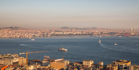 Asian side of Istanbul with bosphorus cruises
