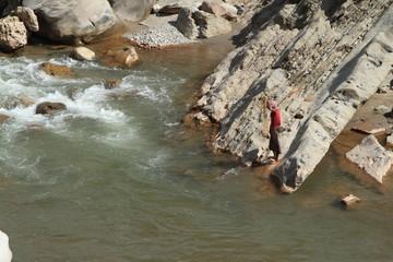 Fischfang in Indien
