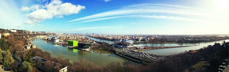 Panorama Lyon Confluences