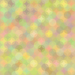 Pastel Geometric Background in Shades of Rainbow