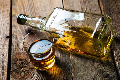 Alcohol. whiskey - 78746931
