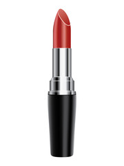 Red lipsticks vector isolated white