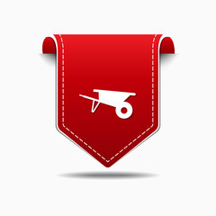 Trolly Red Vector Icon Design