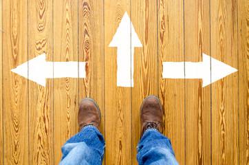 Richtung wählen