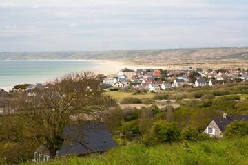 Panorama sur Siouville dans la Manche, Normandie