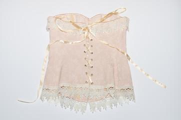Retro di un corsetto