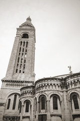 Belltower of Sacre Coeur Basilica, Paris