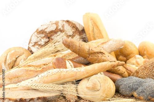Fotobehang Brood Bäckereisortiment