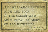 imbalance Plutarch poster