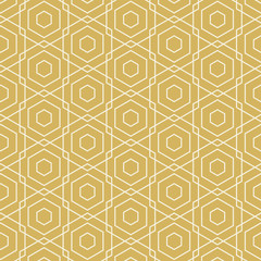 Abstract White Line Pattern on Brown Background