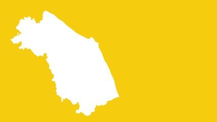 Marche: negative silhuette