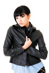 Modern Asian woman