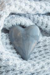 Love stone. Heart shape