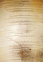 cracked old enamel