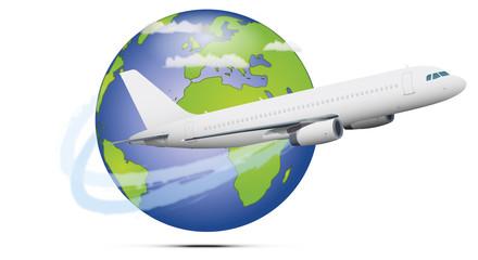 Globe avion 01