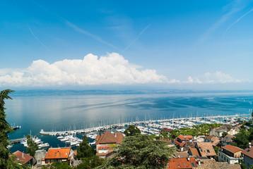 Thonon-les-bains, port et Lac Leman