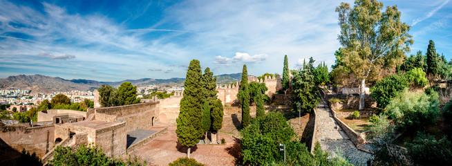 Alcazaba de Malaga. Malaga city. Spain