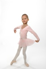 I will become a great ballerina.