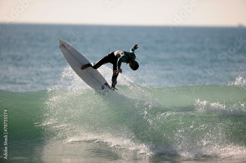 canvas print picture Surfer wellenreiter