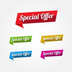 Special Offer Labels