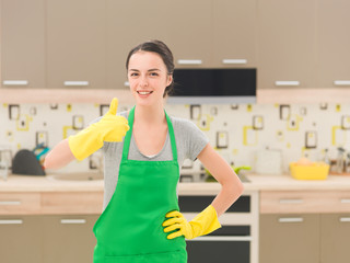 the kitchen is squeaky clean
