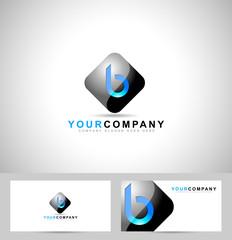 Letter B Logo Design.Creative Symbol of letter B
