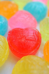 ハートのキャンディー