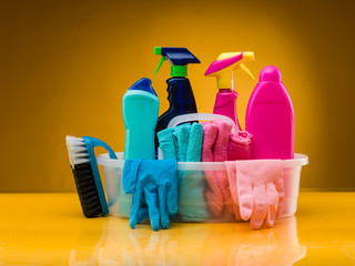 products for bathroom cleaning
