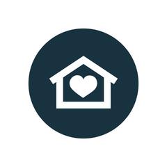 heart home icon