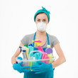 canvas print picture - unfriendly cleaning products