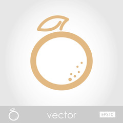 Vector Orange icon