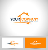Real Estate Logo Design. House Logo Design poster