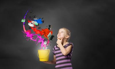 Colorful childhood!