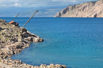 paysage mer adriatique