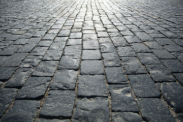 stones paving the old texture background