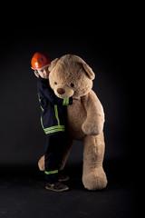 Kind rettet Teddy