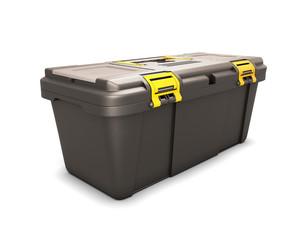 Tool box close-up