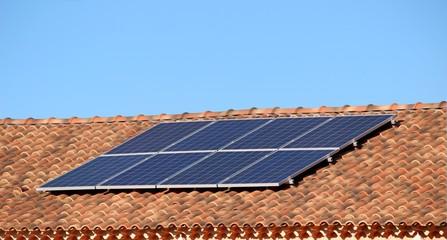 Panneaux solaires en Provence