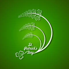 Vector Illustration of Saint Patricks day design