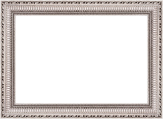 Silver horizontal Neoclassical frame