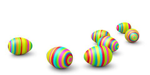 Ostereier, Ostern, bunte Eier, farbig, bemalt, handbemalt, Egg