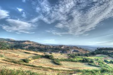 scenic landscape in Sardinia