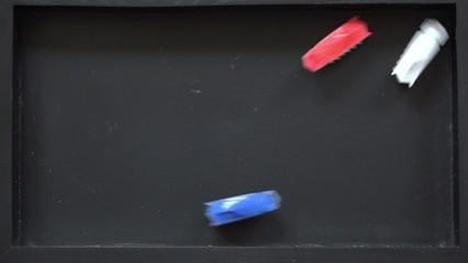nanomachine nanobot toy car moves