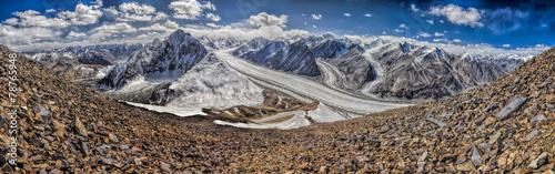 Papiers peints Glaciers Pamir in Tajikistan