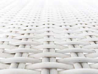 White Plastic Weaving